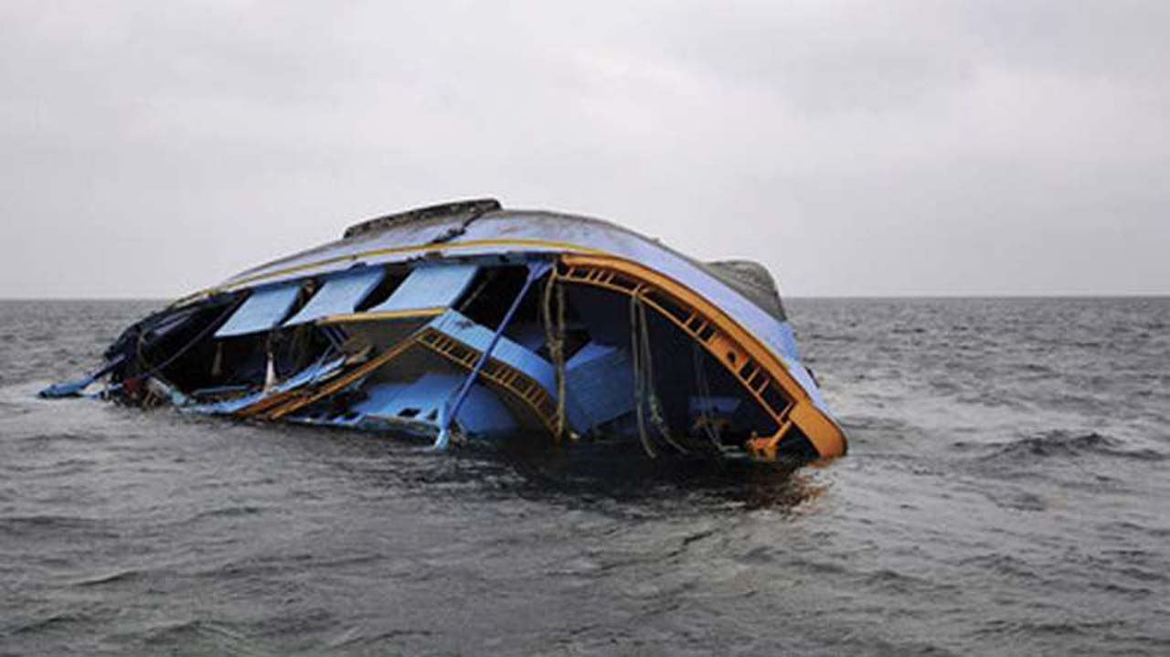 Scene of boat mishap