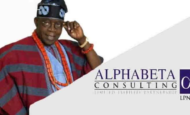 Tinubu and Alpha Beta Consulting