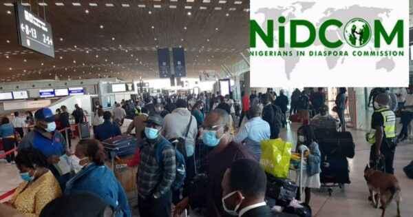 Nigerian evacuees
