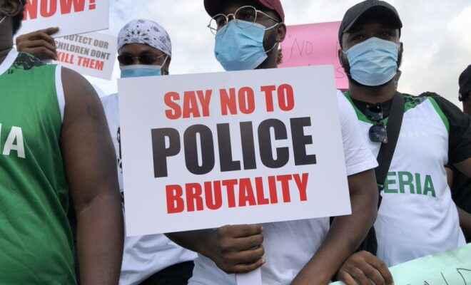 #ENDSARS protests