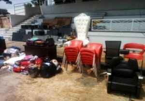 Some of the recovered items