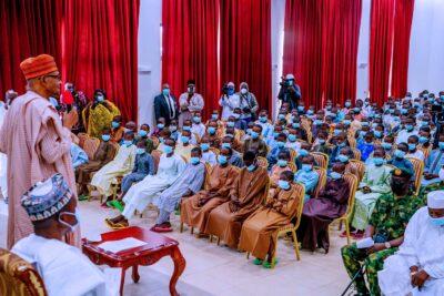 Buhari meets Kankara Boys