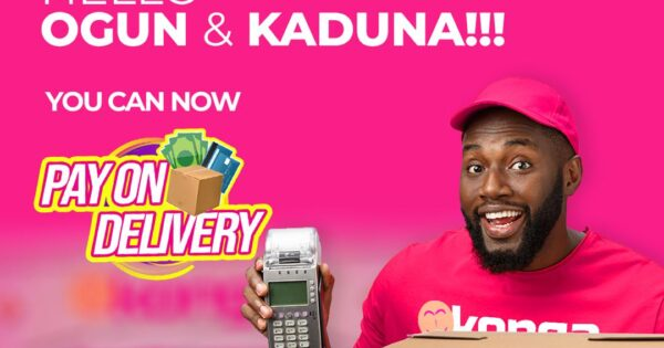 Konga Pay on Delivery