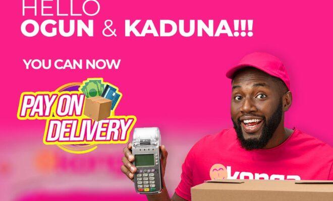 Konga Pay on Delivery