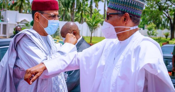 Buhari receives President of Niger