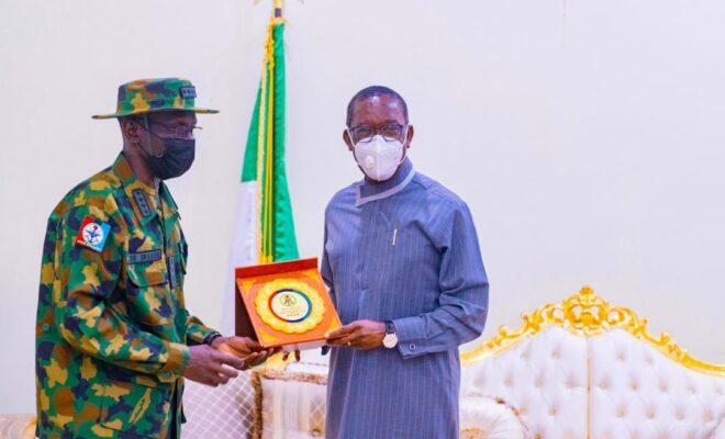 Okowa meets Gen. Irabor