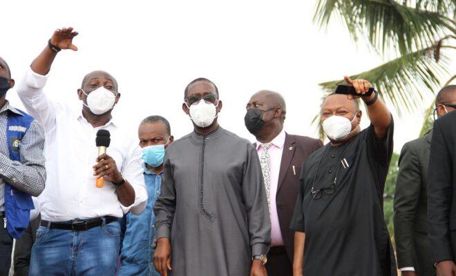 Okowa inspects new varsity in Asaba