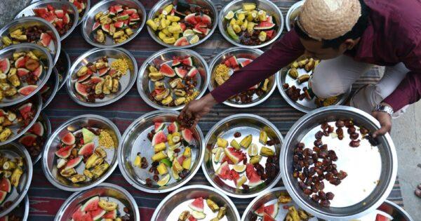 Free Ramadan feeding in Kano