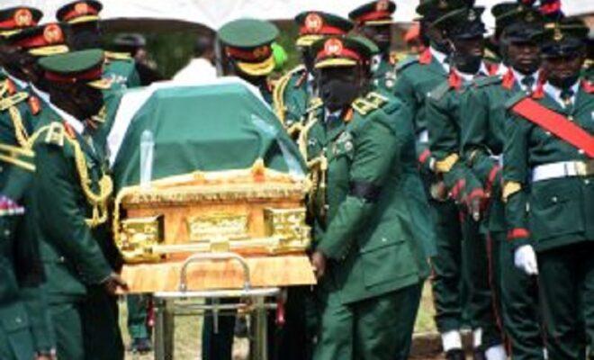 Gen. Attahiru burial