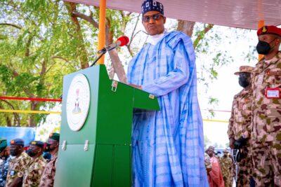 Buhari in Borno