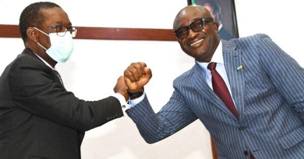 Okowa swears in new SSG