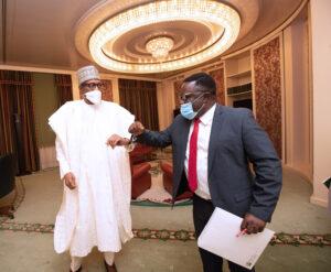 Ayade meets Buhari