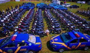 Sanwo-Olu equips the police