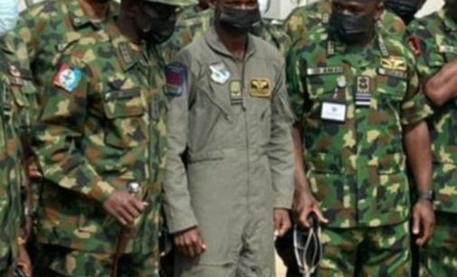 Flt Lt Abayomi Dairo
