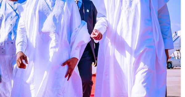 Yusuf Buhari weds Zahra