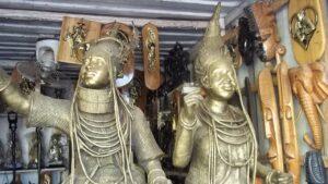 Igun Street, the bronze casting hub