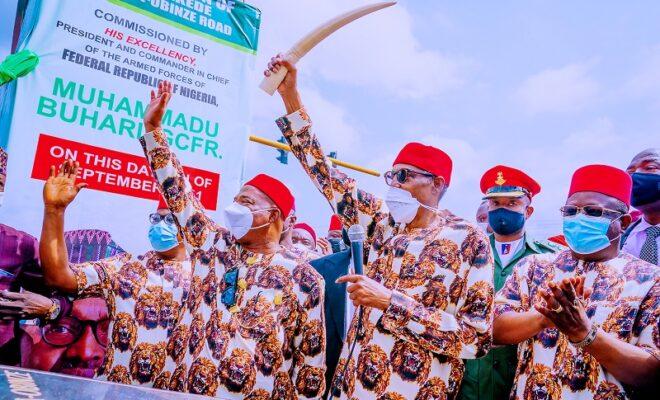 Buhari visits Imo state