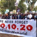 #EndSARS memorial